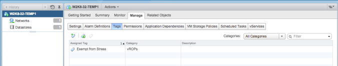 Add Tag to VM in vSphere Client